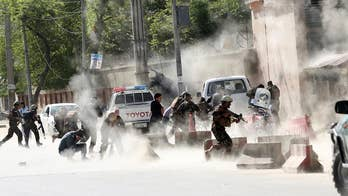 ISIS takes responsibility for a double suicide bombing in Kabul.