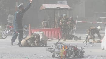 At least 25 people killed in double suicide bombing in Kabul. David Lee Miller has the details from Jerusalem.
