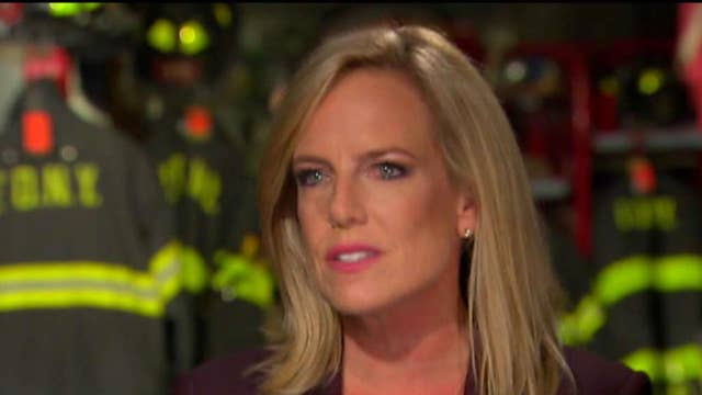Nielsen says border wall is part of counter-terror strategy