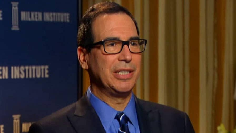 Treasury Secretary prepared to present issues to China that President Trump has been focused on.