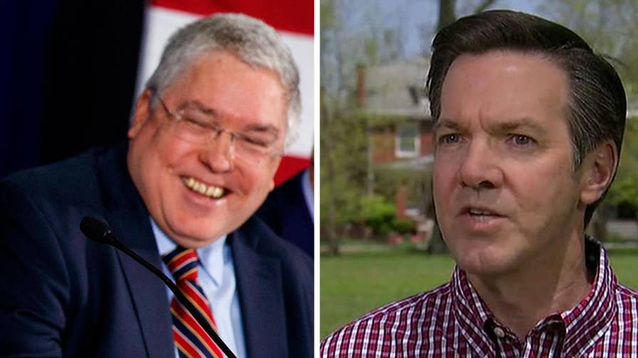 Patrick Morrisey accuses Evan Jenkins of editing Trump picture; Peter Doocy reports from Charleston, West Virginia ahead of prime-time GOP debate on Fox News Channel.