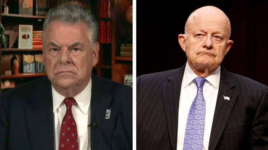 House Intelligence Committee member Rep. Peter King joins 'The Story' to speak out on new questions regarding James Clapper's role in the unverified Trump dossier and whether he could be charged with perjury.