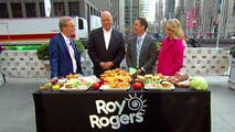 Baseball Hall-of-Famer Cal Ripken partners with Roy Rogers to help young baseball players.