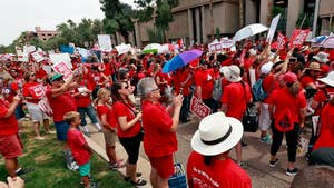 Lawmakers appear to be listening to the teachers' demands for better pay and more funding.
