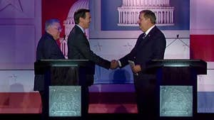 Republican Senate hopefuls debate foreign policy in 'lightening-round' fashion, talking Iran deal, supporting Israel, withdrawing from Syria and foreign threats to U.S. from Morgantown, West Virginia.