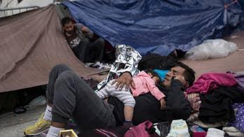 U.S. border inspectors begin to process asylum-seekers from migrant caravan; William La Jeunesse reports from Tijuana, Mexico.