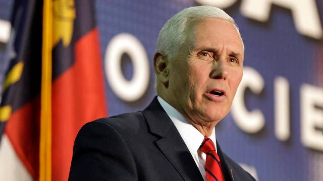 Pence vows to build US-Mexico border wall