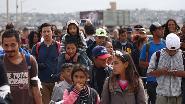 What are the legal options for caravan at border?