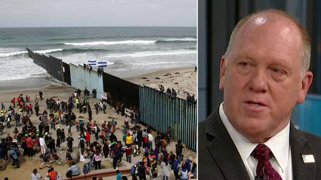 Homan: No one has done more for border security than Trump