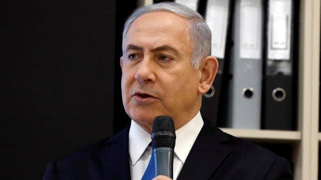 Netanyahu shows proof of secret Iranian nuclear program