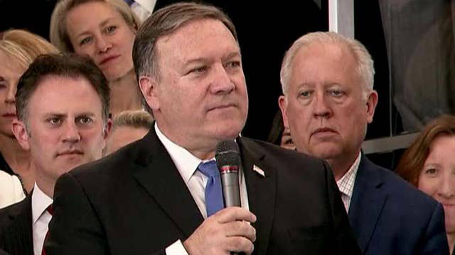 Pompeo to State Department employees: You are patriots