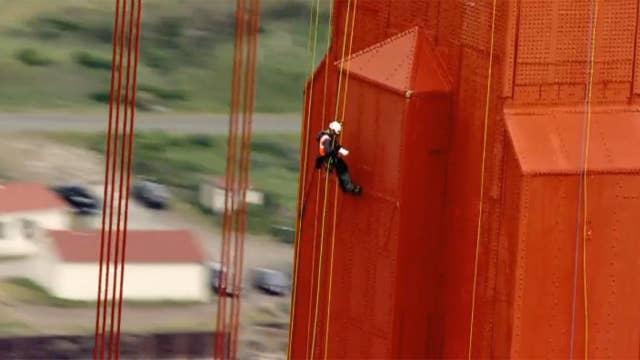 Golden Gate Bridge gets first 'arms-length' inspection