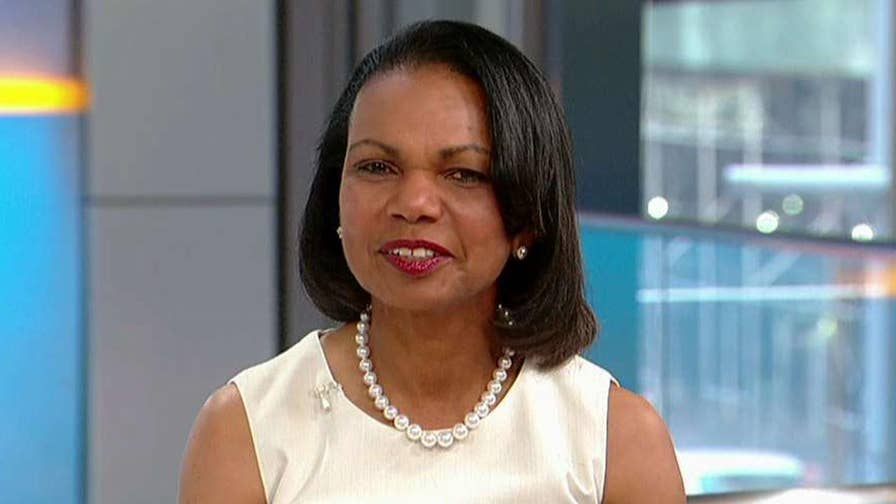 On 'Fox & Friends,' the former secretary of state says the real issue with the Iran nuclear deal is verification. Also, Condoleezza Rice offers advice for President Trump's upcoming summit with Kim Jong Un.