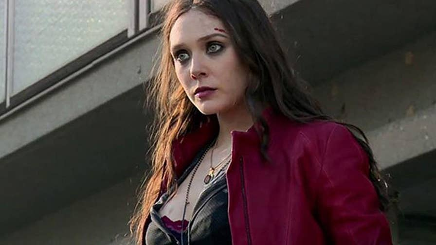 'Avengers: Infinity War' star Elizabeth Olsen told Elle Magazine that she thinks her Scarlet Witch costume was a little too revealing.
