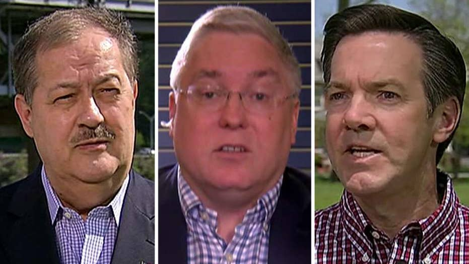 Down to the wire in high-stakes West Virginia primary