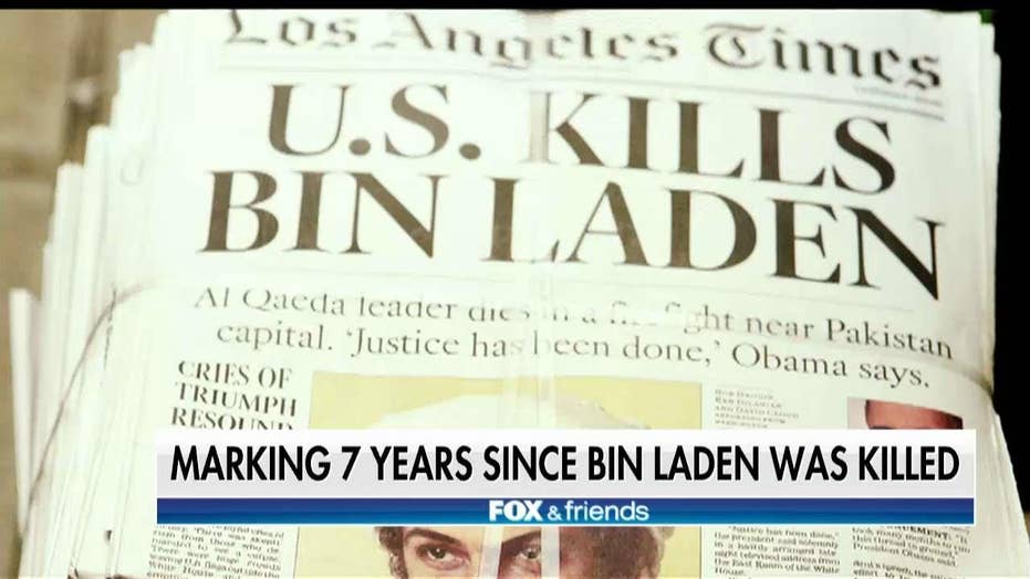 Rob O'Neill reflects on 7th anniversary of bin Laden's death
