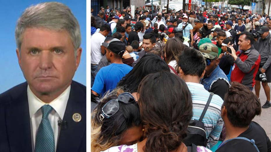 Rep. Mike McCaul on caravan of migrants seeking US entry