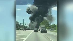 Air Force says Air National Guard C-130 cargo plane crashes near Savannah Hilton Head International Airport.
