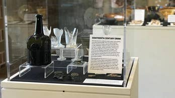 Fragments of 18th-century wine bottle found decades apart now back together in South Carolina