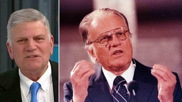 Franklin Graham reflects on his father's legacy in new book