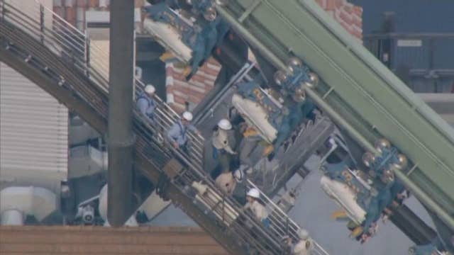 Universal Studios Japan coaster riders stranded for hours