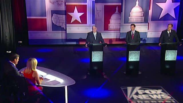 GOP hopefuls debate one week ahead of primary