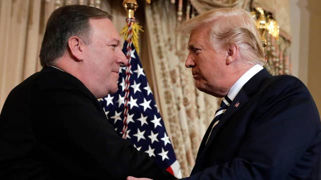 White House: Pompeo is 'lockstep' with President Trump