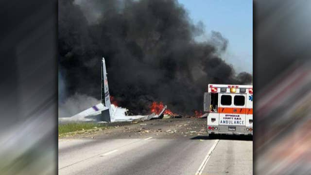 Report: Military aircraft crashes near Savannah