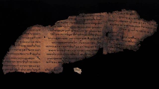 Hidden text revealed in Dead Sea scrolls