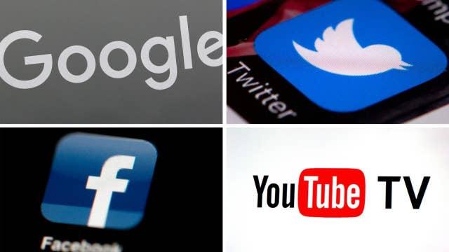 Conservative leaders target Facebook, Google for bias