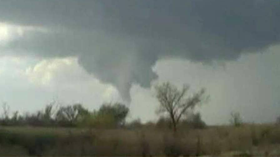 Janice Dean has the latest on the potential for tornadoes in the Midwest.