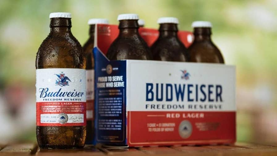 Budweiser launches beer using recipe written by George Washington with a portion of the proceeds going to Folds of Honor.