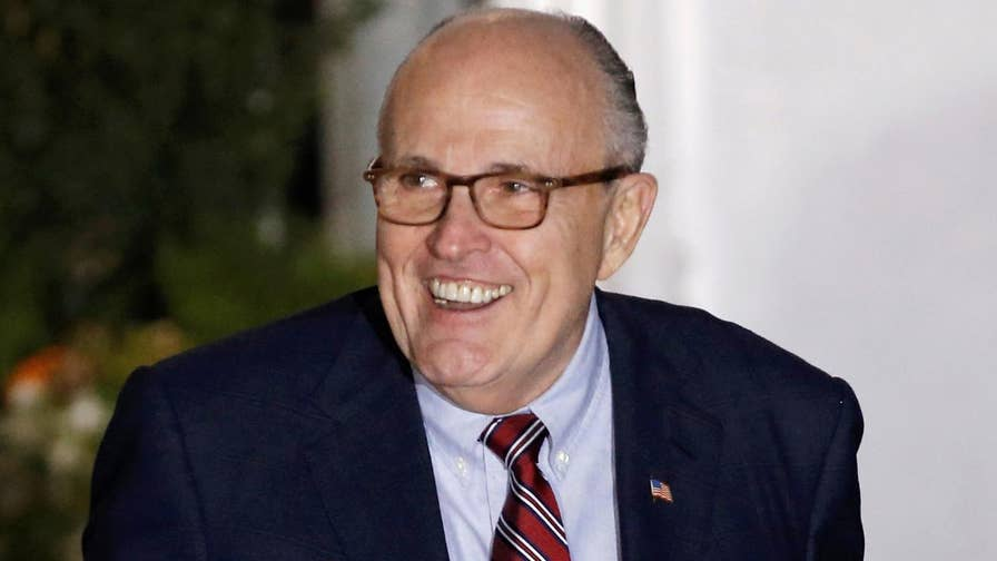 Trump attorney Rudy Giuliani says sit-down with the special counsel would be 2 hours with a narrow set of questions; reaction on 'The Five.'