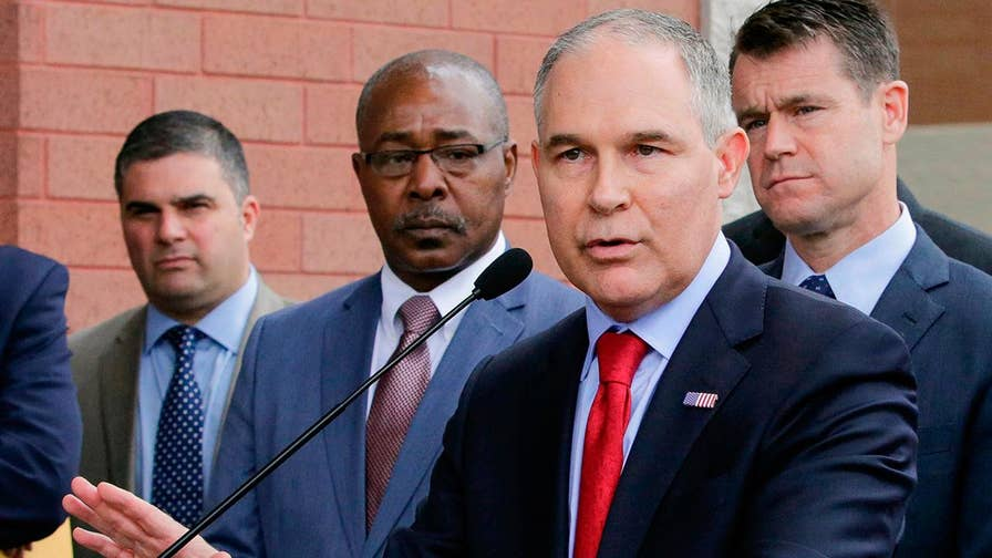 EPA chief facing more questions over conduct; Ed Henry reports from Washington.