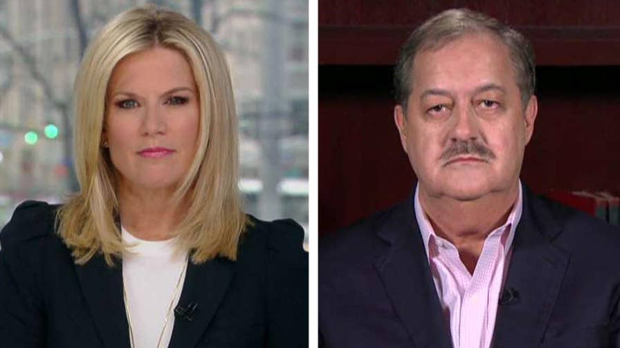 West Virginia U.S. Senate candidate Don Blankenship doubles down on criticisms of Senator McConnell and discusses his Senate primary bid on 'The Story.'
