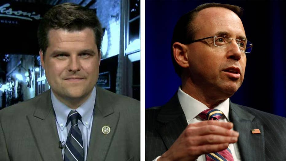 Freedom Caucus members draft Rosenstein impeachment articles
