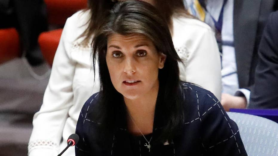 Ambassador Nikki Haley reacts to UN Voting Practices Report