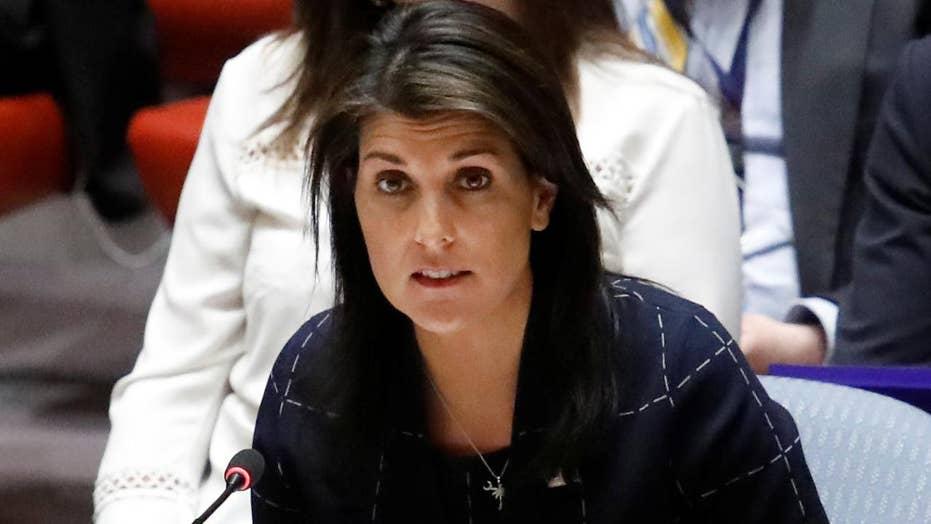 Ambassador Nikki Haley reacts to UN Voting Practices Report