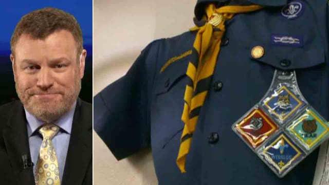 Steyn: Left drove a stake through Boy Scouts