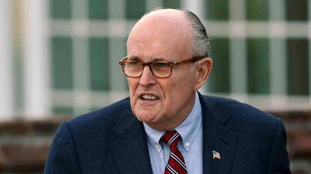 Rudy Giuliani takes aim at special counsel