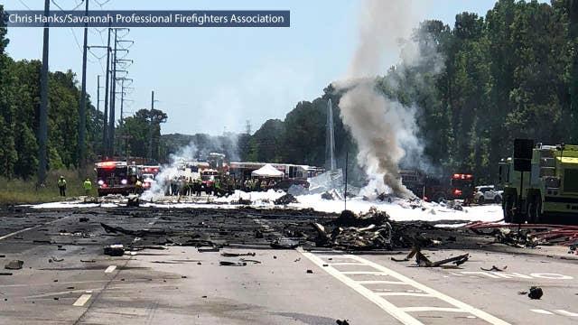 Officials: No survivors in military plane crash