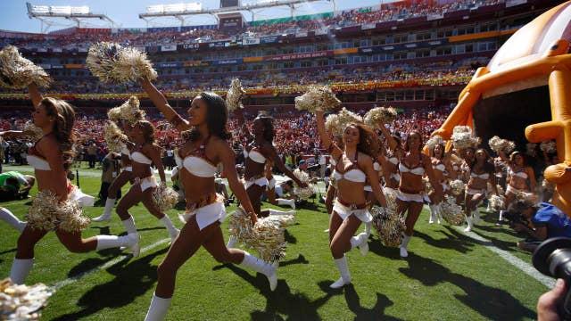 Redskins cheerleaders felt forced to escort, entertain men