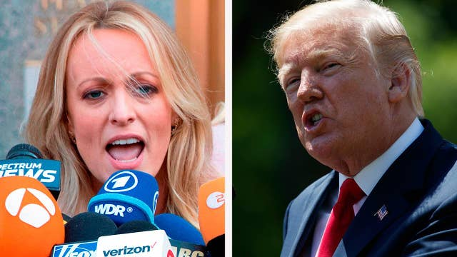 Robert Driscoll says Trump can weather Stormy Daniels flap