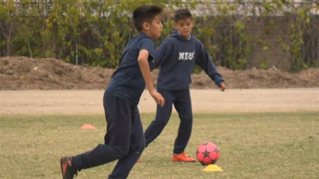 10-year-old twins scouted by professional soccer teams