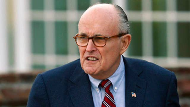 New questions on timing of Rudy Giuliani's Cohen comments