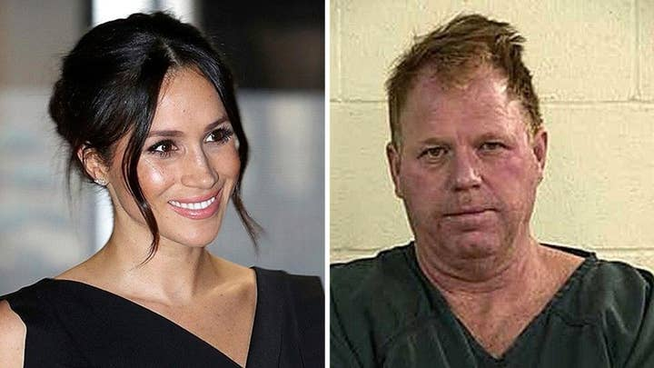 Markle's estranged half-brother urges Harry to stop wedding