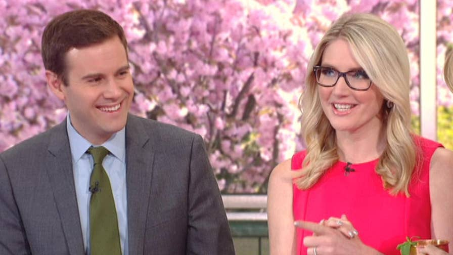 Guy Benson shares his Dijon salmon and Marie Harf stirs up her Kentucky mule cocktail.