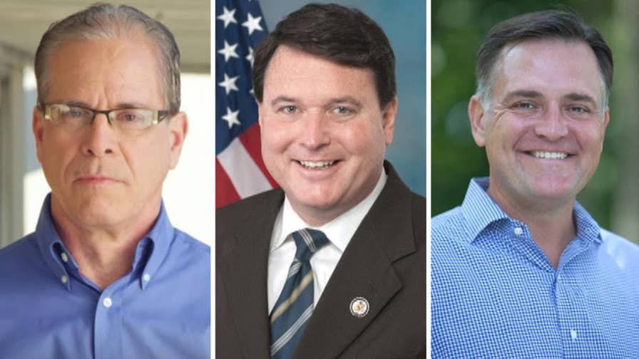 GOP candidates try to align their political careers with those of President Trump, hope to flip a Democratic Senate seat in Indiana; Mike Tobin reports from Indianapolis.