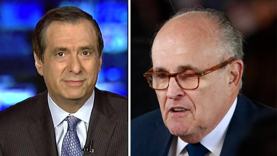 Howard Kurtz weighs in on Trump's new lawyer Rudy Giuliani changing the playing field after he admitted to Sean Hannity that the president reimbursed Michael Cohen for the payment to Stormy Daniels.