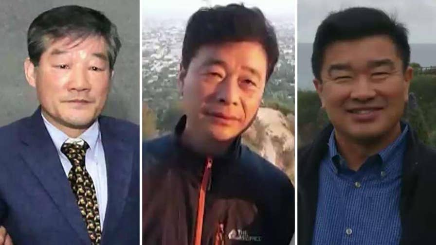 Flurry of talk surrounding the possible freeing of three American citizens being held by North Korea; senior foreign affairs correspondent Greg Palkot reports from London.